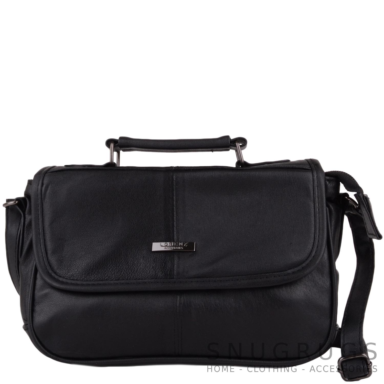 Details about Ladies   Womens Soft Leather Handbag   Shoulder   Cross Body  Bag 4af3270b93636
