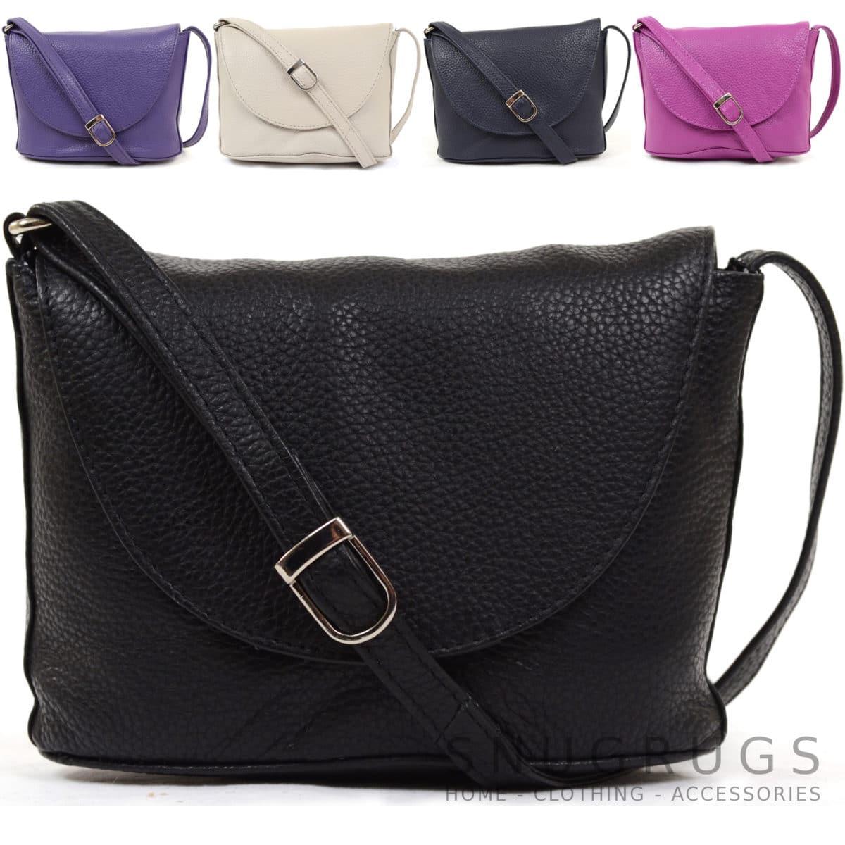 Greta – Soft Leather Cross Body / Shoulder Bag