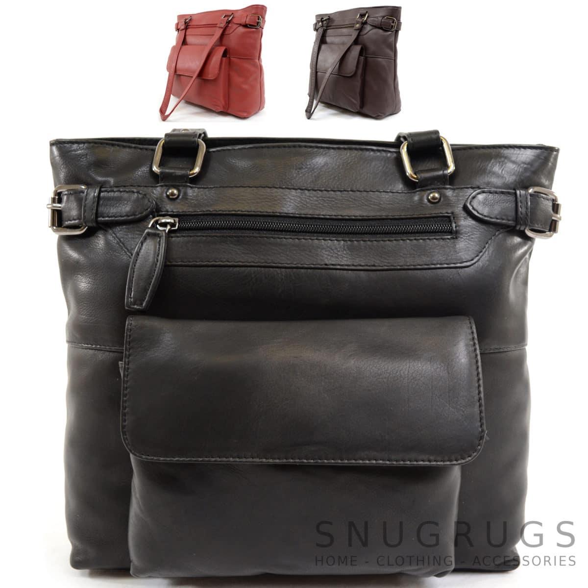 Jazz – Soft Leather Shoulder / Handbag