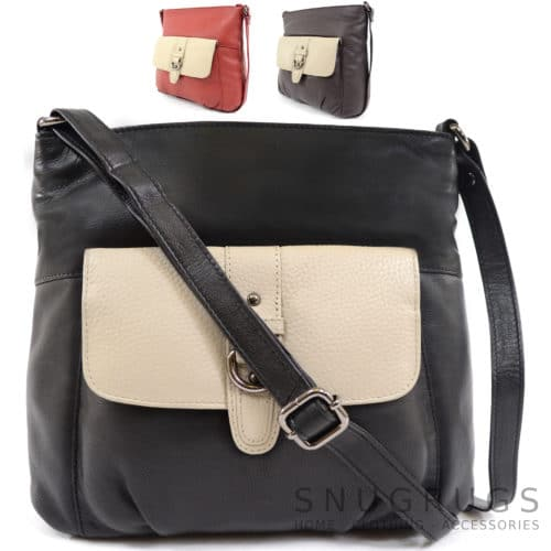 Jemma – Soft Leather Shoulder / Cross Body Bag
