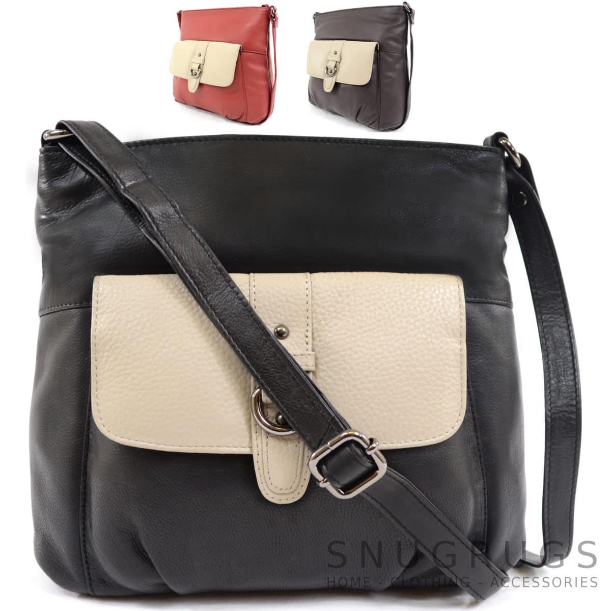 Jemma – Soft Leather Shoulder / Cross Body Bag