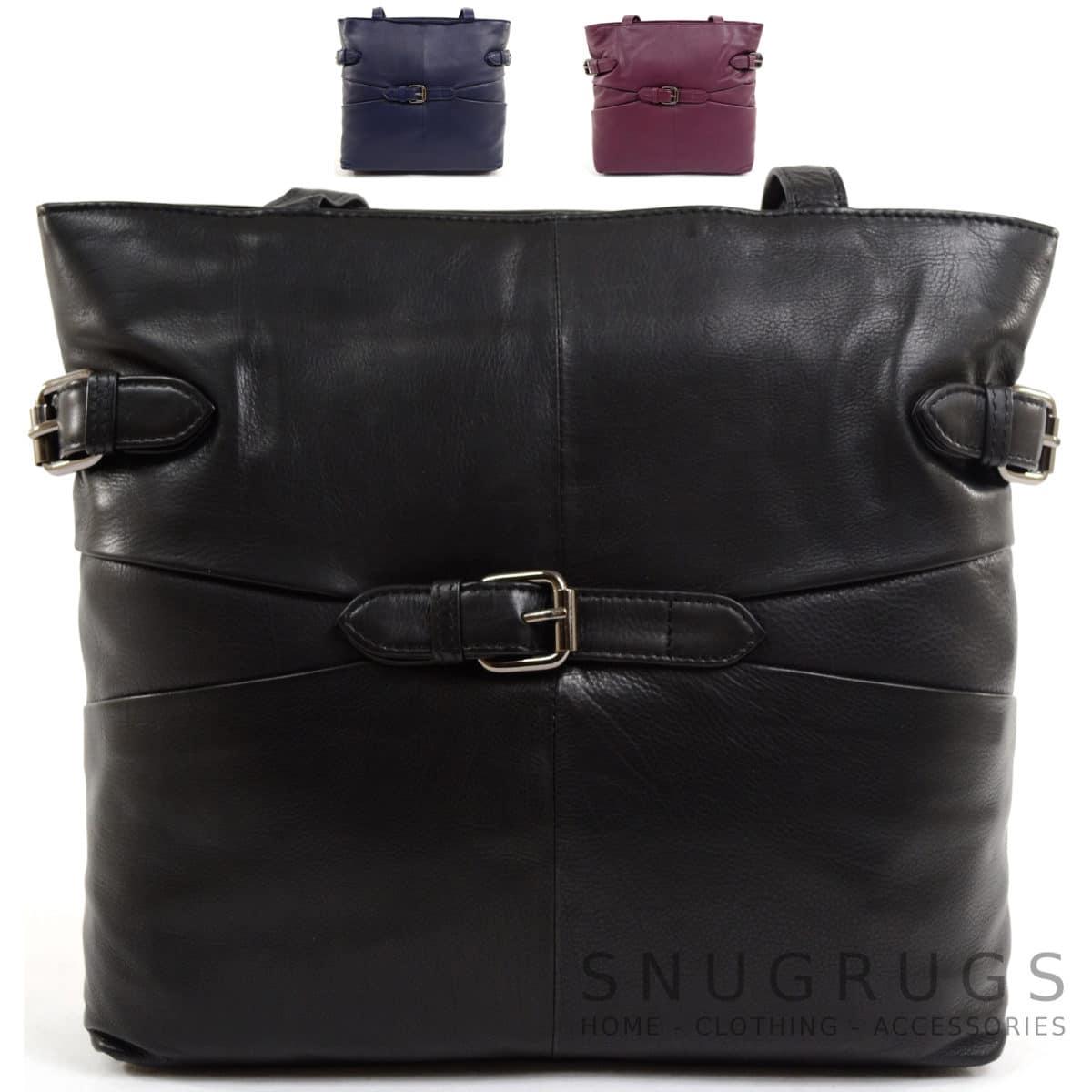 Jill – Soft Leather Large Shoulder / Handbag
