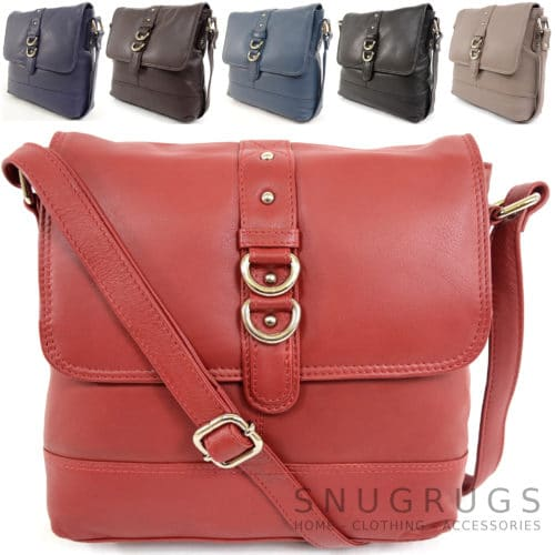 Jude – Soft Leather Shoulder / Cross Body Bag