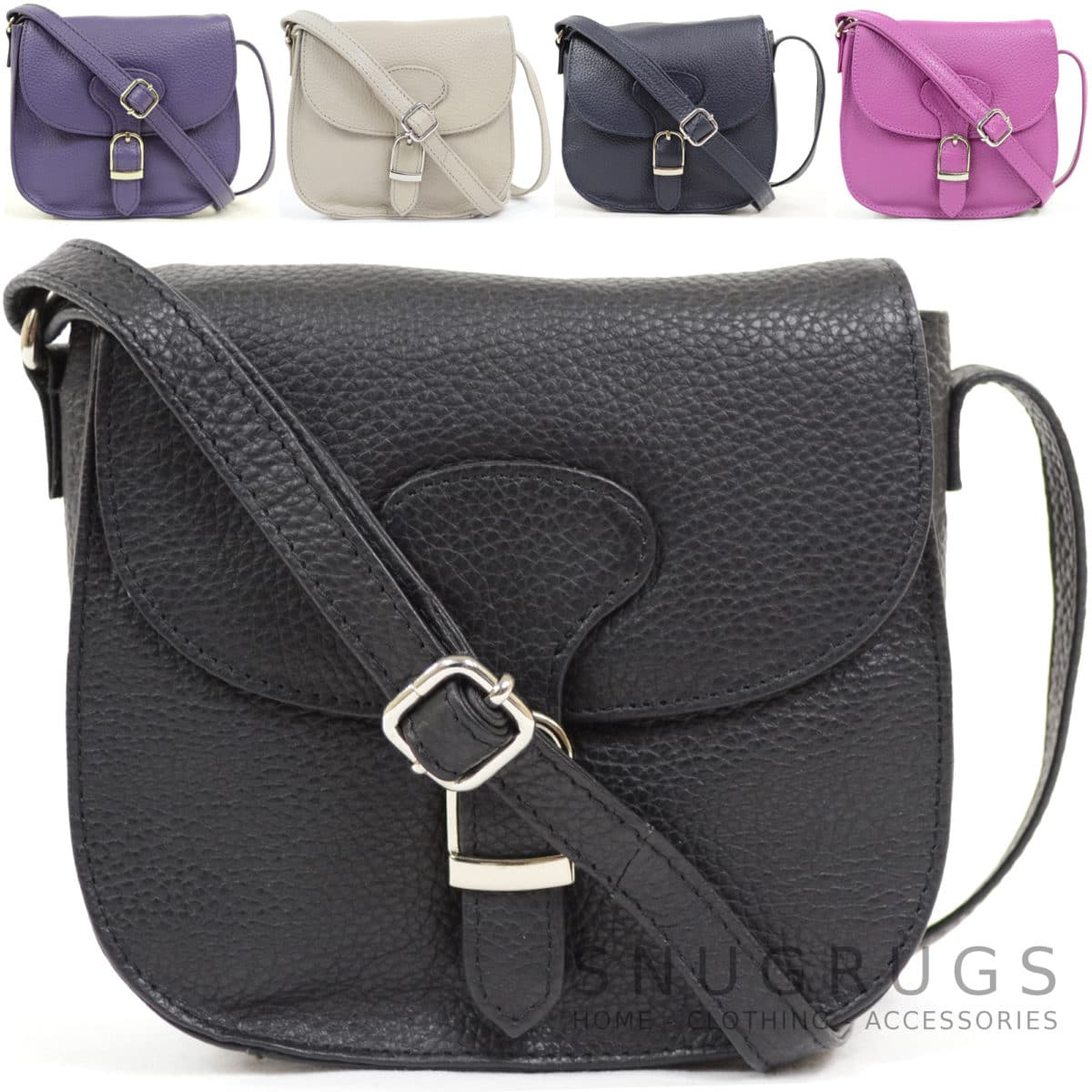 Fiona – Leather Cross Body / Shoulder Bag