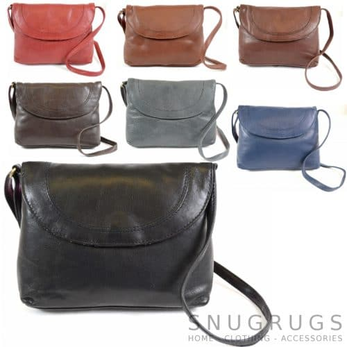 Abigail – Soft Leather Shoulder Bag