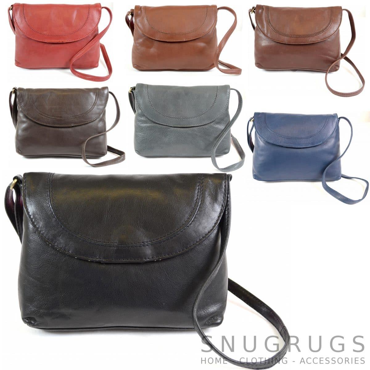 Abigail – Soft Leather Shoulder Bag