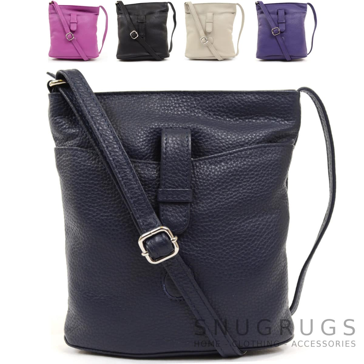 Faye – Leather Cross Body / Shoulder Bag