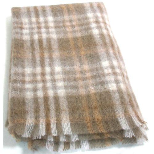 Mohair Blanket - Tan Beige