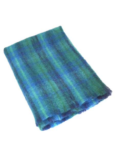 Snugrugs Mohair Blanket Blue