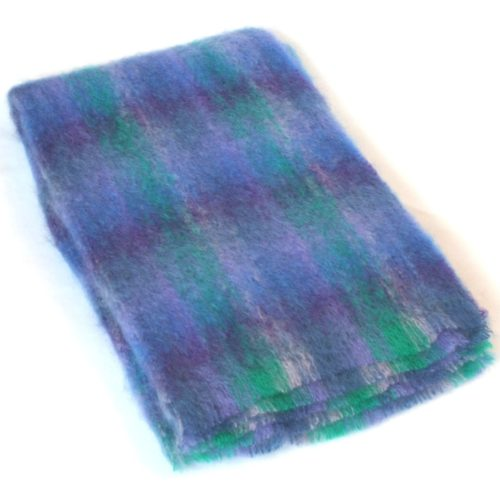 Mohair Blanket - Purple