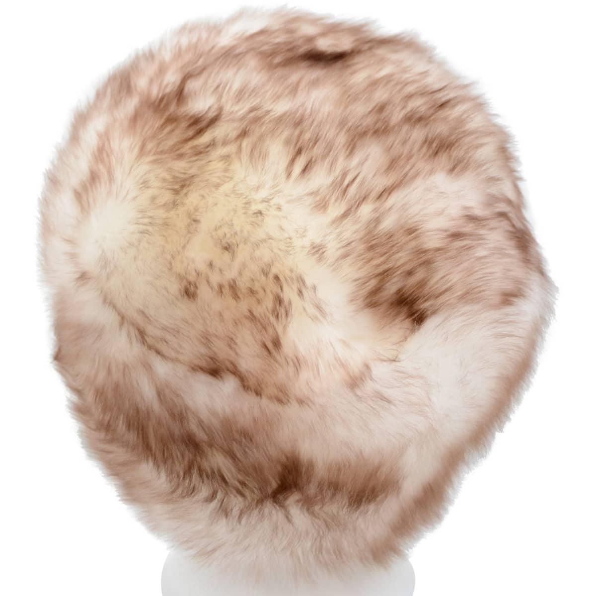 Fern - Ladies Full Sheepskin Hat - Natural Tipped