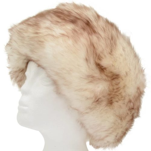 Fern - Ladies Full Sheepskin Hat - Natural Tipped