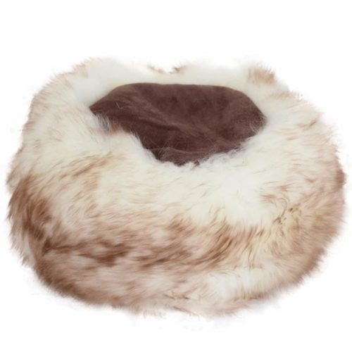 Brigit - Ladies Full Sheepskin Cossack Style Hat - Brown