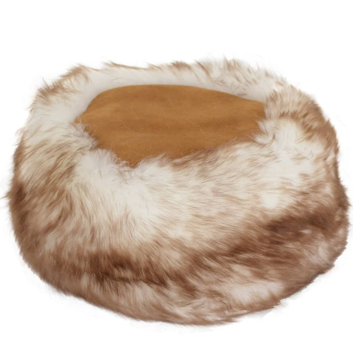 Brigit - Ladies Full Sheepskin Cossack Style Hat - Tan