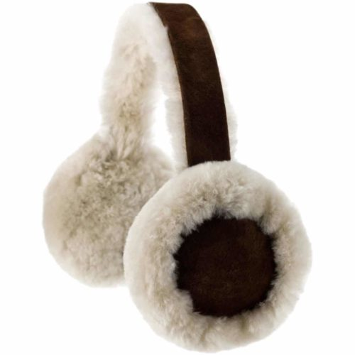 Full Sheepskin Earmuffs - Brushwood