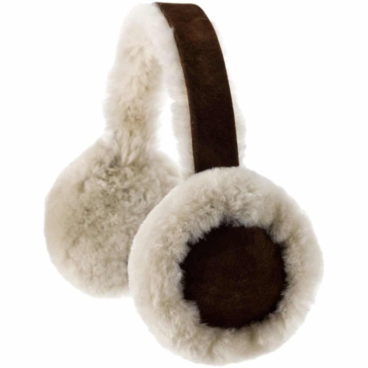 Full Sheepskin Earmuffs - Brushwood