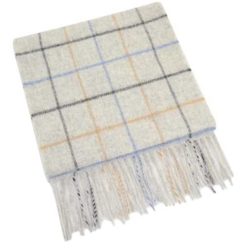 Extra Long Lambswool Scarf - Beige