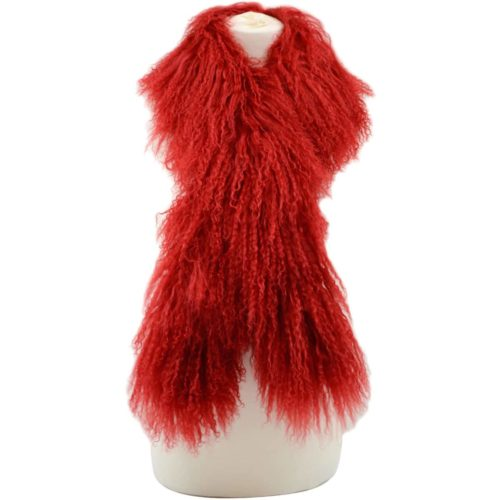 Snugrugs Mongolian Scarf Red