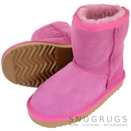 Pixie - Kids Sheepskin Boot - Pink