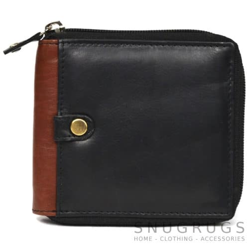 Archie - Prime Hide Leather Wallet - Black