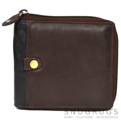 Archie - Prime Hide Leather Wallet - Brown