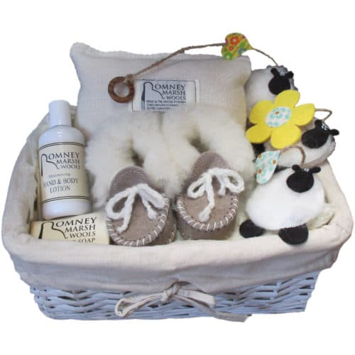 Romney Marsh New Baby Gift Set