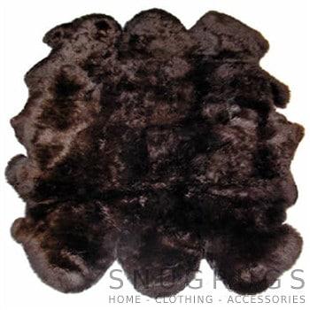 Brown Sexto Sheepskin Rug