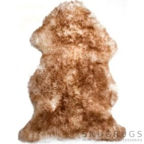 Brown Tipped Sheepskin Rug