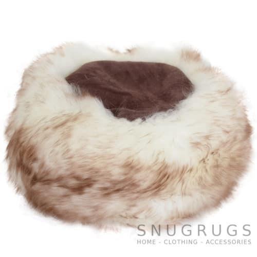 Brigit - Ladies Full Sheepskin Cossack Style Hat - Brown