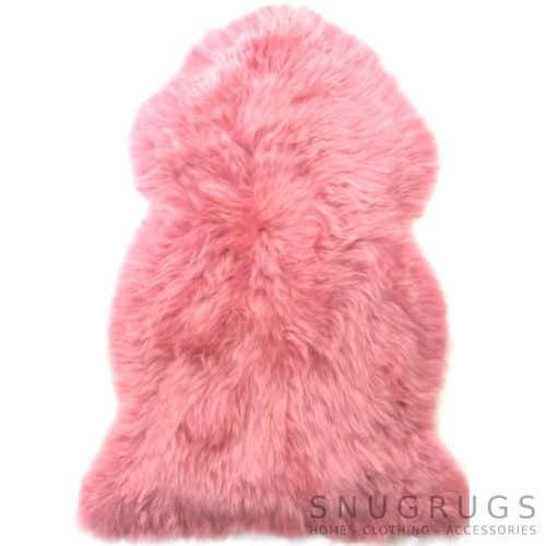 Candy Floss Pink Sheepskin Rug