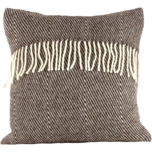 Romney Marsh Wool Cushion - Black Thorn - 4 sizes