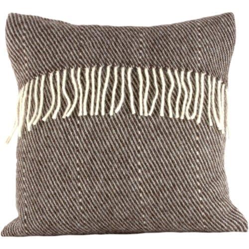 Romney Marsh Wool Cushion - Black Thorn - 4 sizes