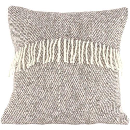 Romney Marsh Wool Cushion - Marsh Fern - 4 sizes