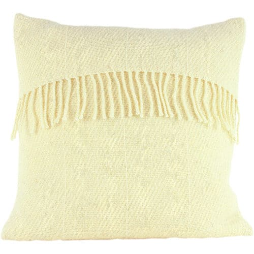 Romney Marsh Wool Cushion - White Clover - 4 sizes