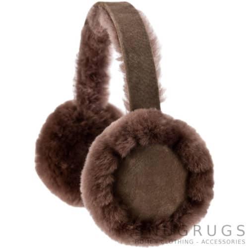 Full Sheepskin Earmuffs - Mink