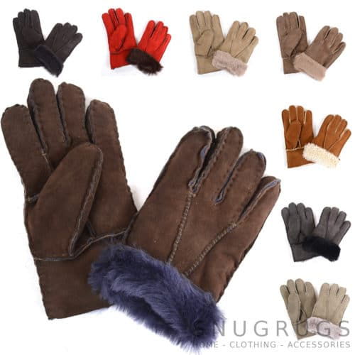 Childrens Sheepskin Gloves