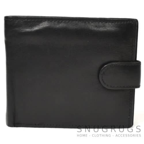 Harry - Prime Hide Leather Bi-Fold Wallet - Black