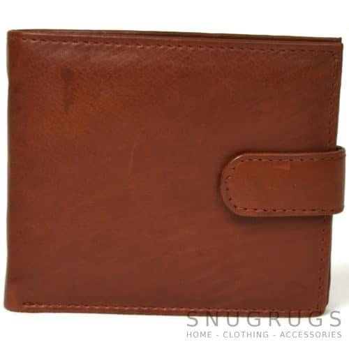 Harry - Prime Hide Leather Bi-Fold Wallet - Tan