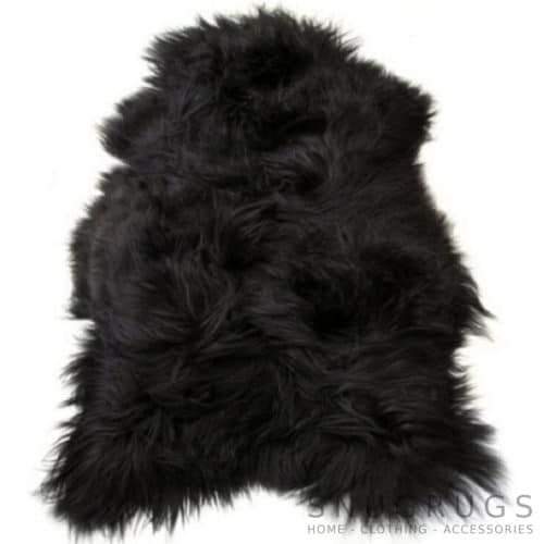 Icelandic Blacky Brown Sheepskin Rug