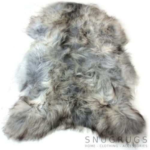 Icelandic Grey Sheepskin Rug