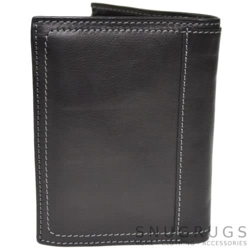 Isaac - Prime Hide Leather Wallet - Black