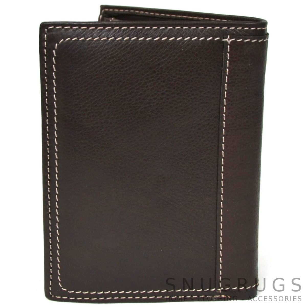 Isaac - Prime Hide Leather Wallet - Brown