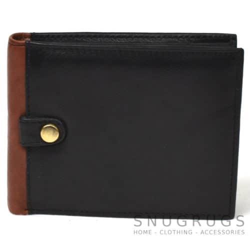 Jack - Prime Hide Leather Compact Wallet - Black
