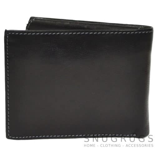 Josh - Prime Hide Leather Wallet - Black