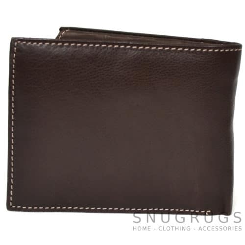 Josh - Prime Hide Leather Wallet - Brown