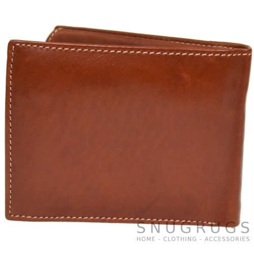Josh - Prime Hide Leather Wallet - Tan