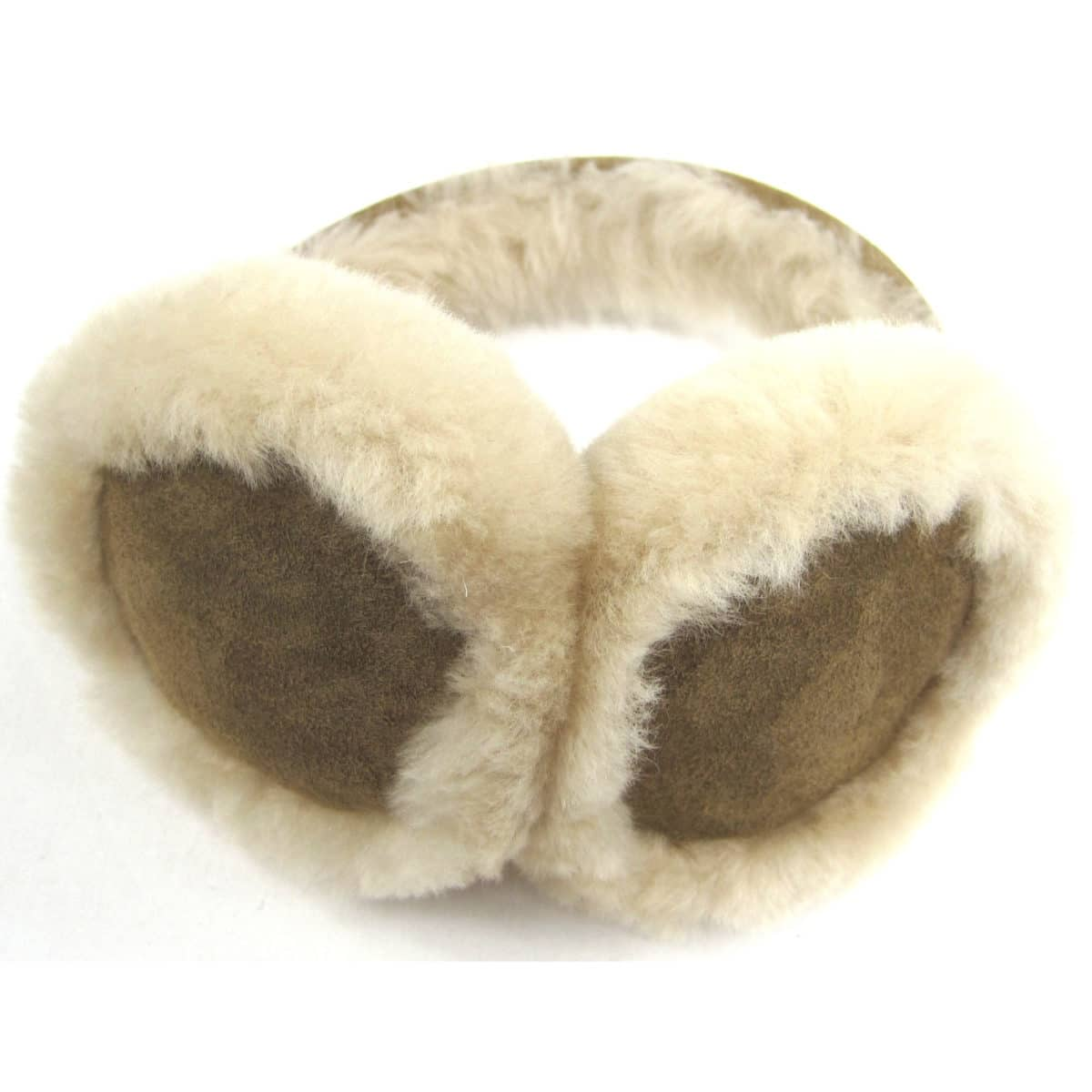 Childrens Sheepskin Earmuffs - Chestnut