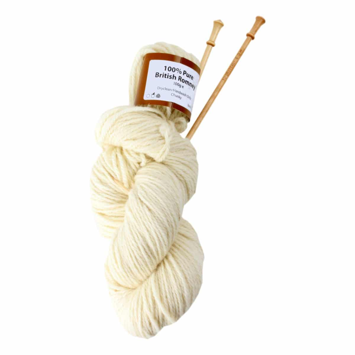 Romney Chunky Knitting Wool Ball 100g