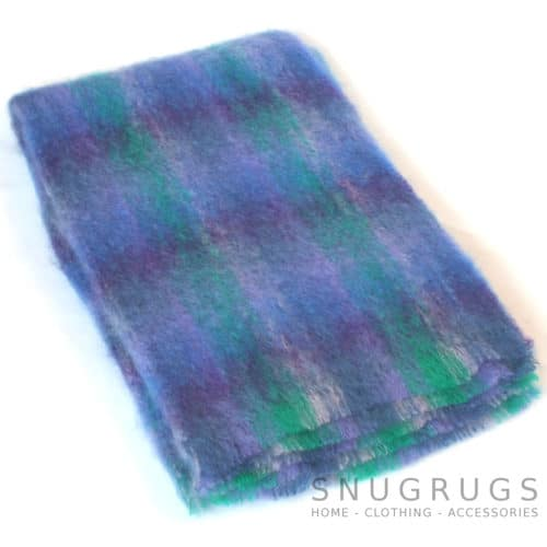 Mohair Blanket - Purple