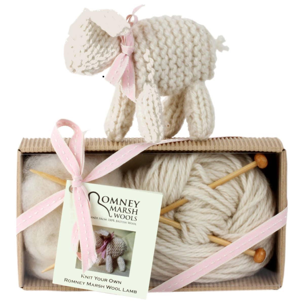 Little Lamb Knit Kit for Beginners